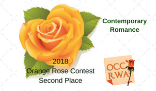 OCCRWA 2018 Orange Rose Contest Second Place